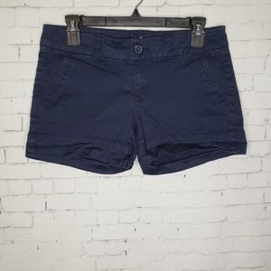 EUC American Eagle Midi Navy Shorts 4